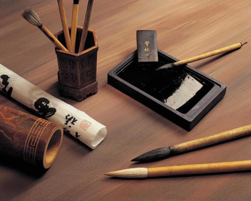 Les outils fondamentaux du calligraphe shodo