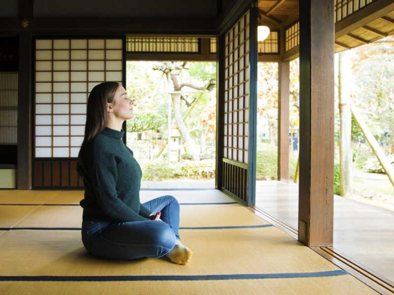 La méditation zen est au coeur de la pratique de la calligraphie