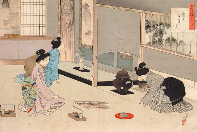 La cérémonie du thé est un rituel qui invite à rester humble
